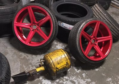 Red Rims - Vehicle